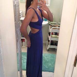 Tobi Cut Out Maxi Dress